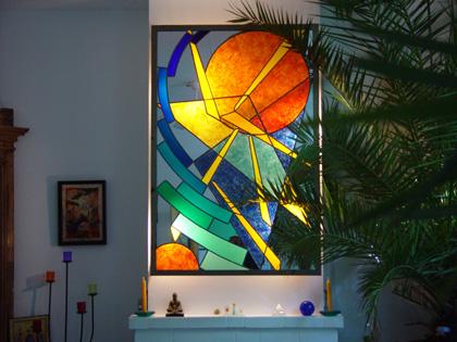 g rard tessier maitre verrier createur vitraux sculpture mobilier luminaire fusing. Black Bedroom Furniture Sets. Home Design Ideas