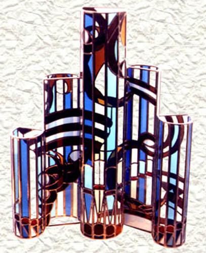 G 233 Rard Tessier Maitre Verrier Createur Vitraux Sculpture